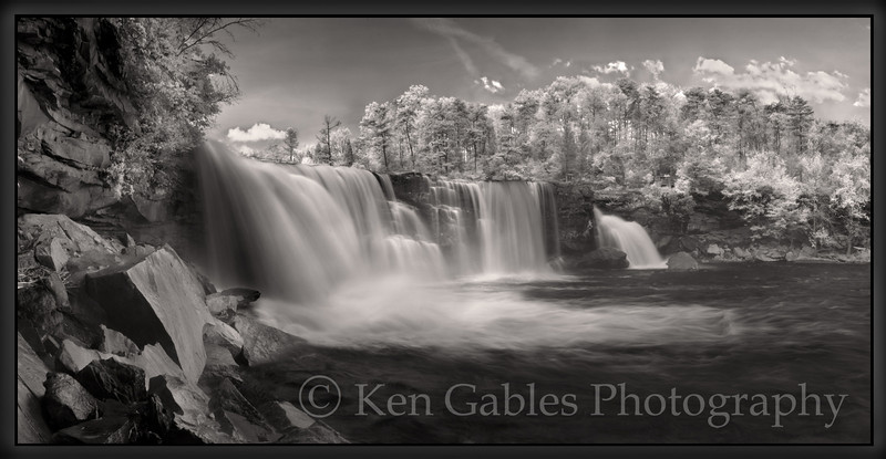 Little River Falls, Little River Canyon National Preserve, Dekalb County, Alabama