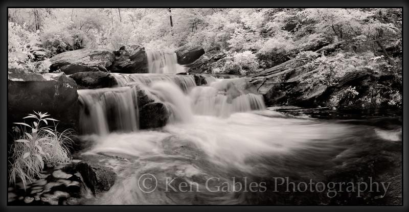 Devils Den Falls, Talladega National Forest, Clay County, Alabama
