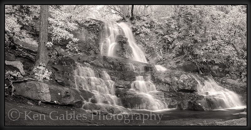 Laurel Falls, Great Smoky Mountain National Park, Tennessee