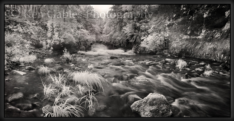 Kinlock Falls, Hubbard Creek, Bankhead National Forest, Winston County, Alabama