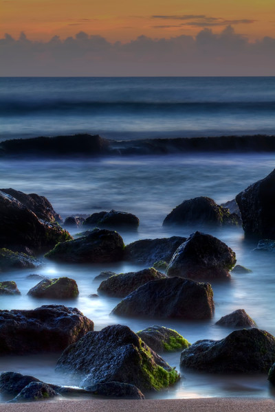 "Exposed Reef<br /> Salt Pond, Kauai, Hawaii<br /> By Brett Downen<br /> <br /> Float Mounted MetalPrint<br /> Available sizes: 4"" x 6"", 8"" x 12"", 16"" x 24"". 24"" x 36"""