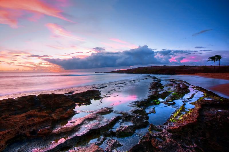 Salt Pond Sunset
