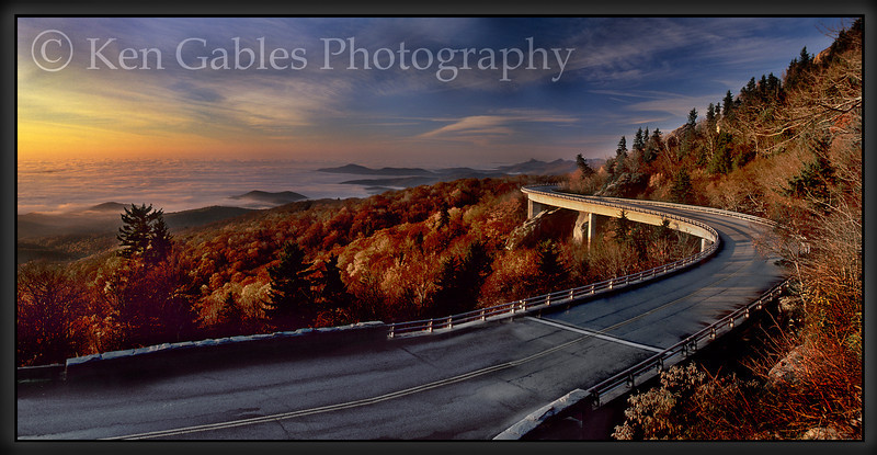 Lynn Cove Viaduct, Blue Ridge Parkway, North Carolina