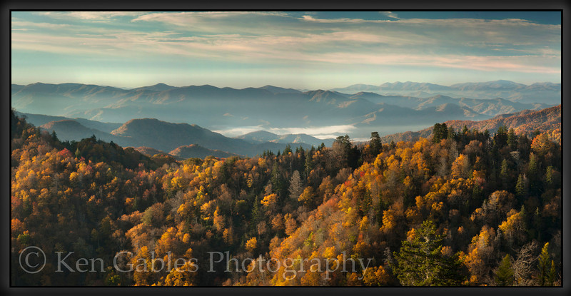 Newfound Gap, Great Smoky Mountain National Park, Tennessee