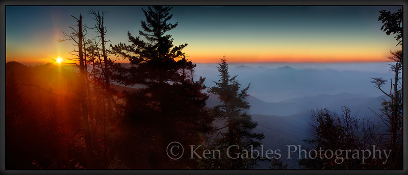 Water Rock Knob Sunrise, Blue Ridge Parkway, North Carolina