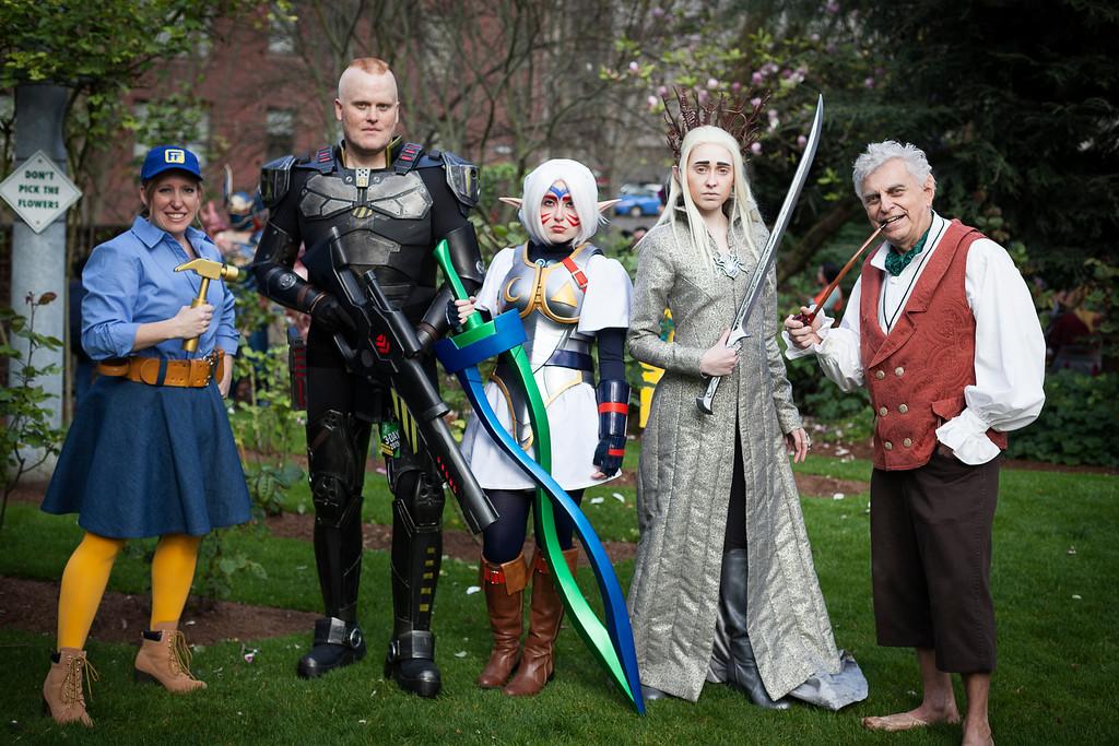 Emerald City Comic Con #ECCC 2015