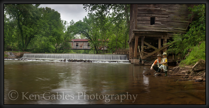 Kymulga Bridge and Grist Mill, Talladega County Alabama