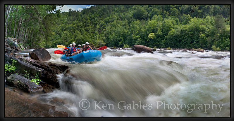 Ocoee River, Cherokee National Forest, Polk County, Tennessee