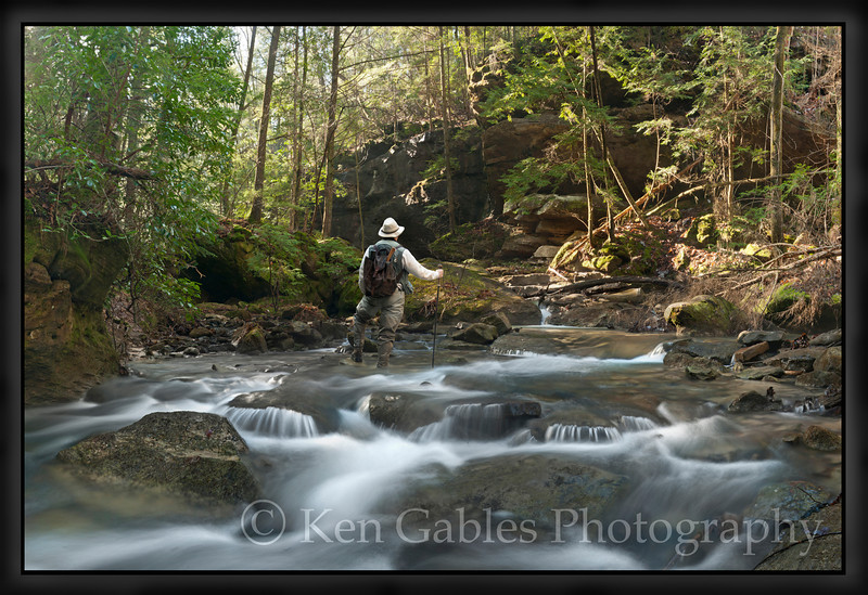 Parker Creek, Sipsey Wilderness, Winston County, Alabama