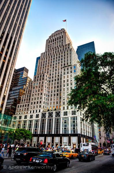 Bergdorf Goodman 5th Ave Manhattan NY