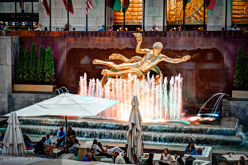 Prometheus Statue Rockefeller Center