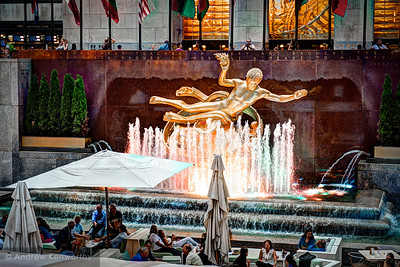 Prometheus Statue Rockefeller Center