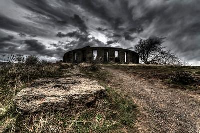 Stonehenge War Memorial near Marysville, Washington  by Brett Downen