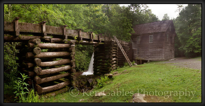 Mingus Mill, Great Smoky Mountain National Park, North Carolina