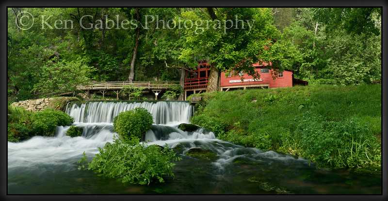 Hodgson Water Mill, Ozark County Missouri