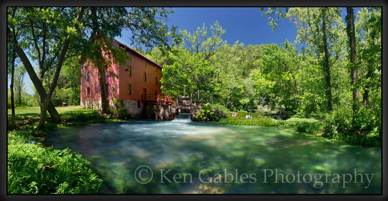 Alley Spring Mill, Shannon County Missouri