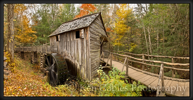 John Cable Mill, Cades Cove, Great Smoky Mountain National Park, Tennessee