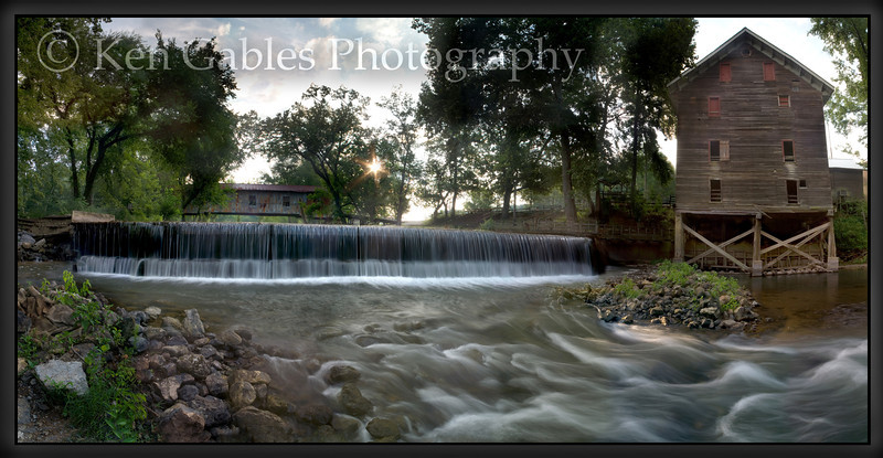 Kymulga Bridge and Gristmill, Talladega County Alabama