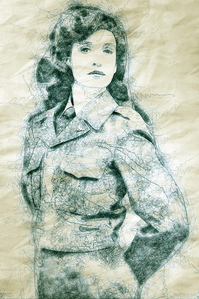 Jessica Rech as Peggy Carter