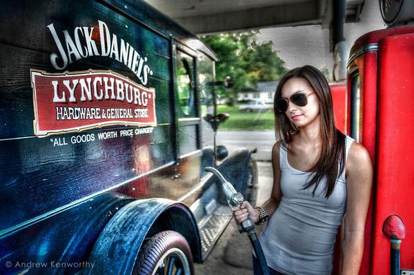 Jack Daniels Gas