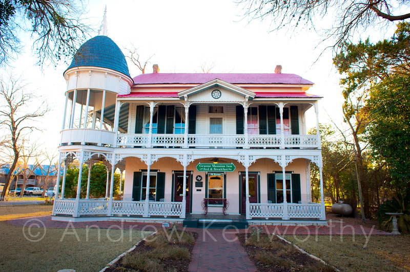 Gruene Mansion Inn Texas 1