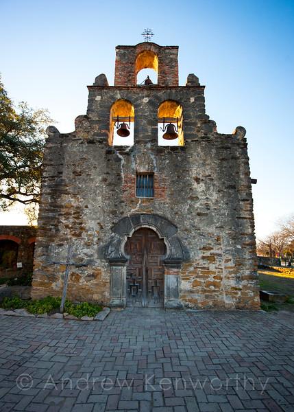 Mission Espada Church San Antonio TX 1