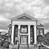 Manly Memorial Baptist Church Lexington VA 2 BW