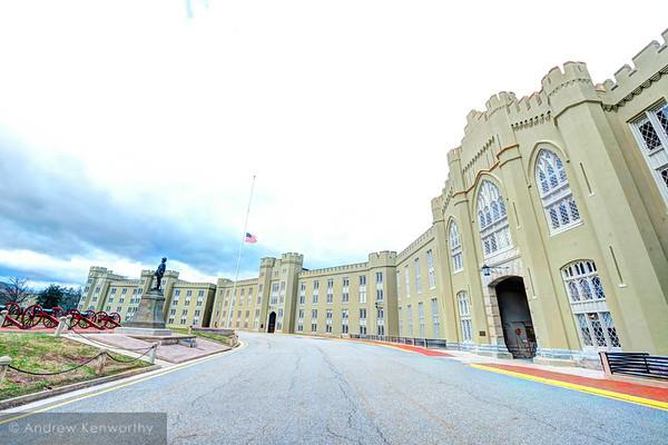 ( VMI ) Virginia Military Institute 107
