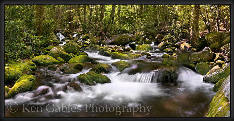 Roaring Fork Nature Trail, Great Smoky Mountain National Park, Tennessee
