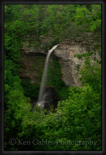 Grace's High Falls, Little River Canyon National Preserve, Dekalb County Alabama