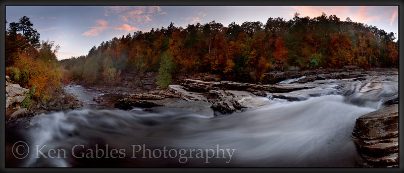 Little River Falls, Little River Canyon National Preserve, Dekalb County Alabama