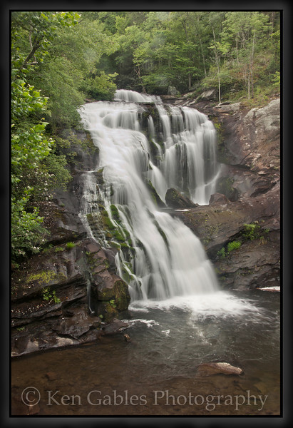 Bald River Falls, Cherokee National Forest, Monroe County, Tennessee