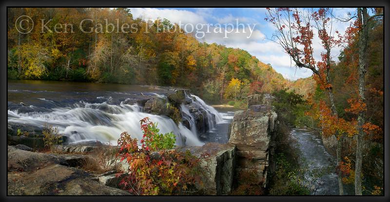High Falls on Towne Creek, Dekalb County Alabama
