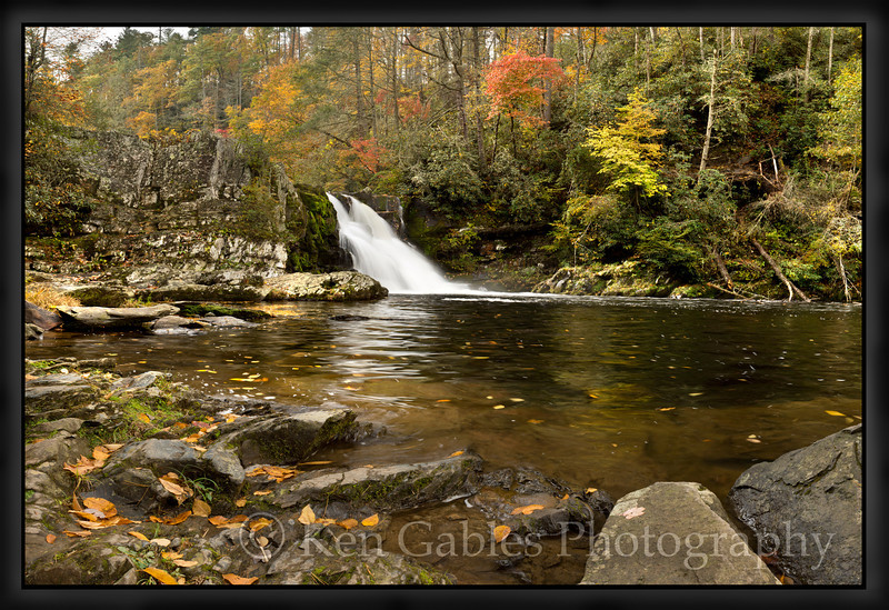 Abrams Falls, Cades Cove, Great Smoky Mountain National Park, Tennessee