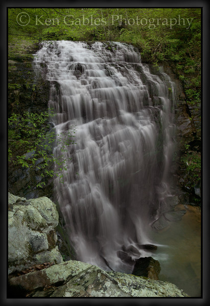 Dee's Branch Falls, Cherokee County, Alabama