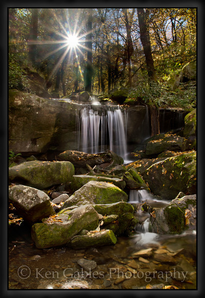 Rainbow Falls Trail, Roaring Fork Nature Trail, Great Smoky Mountain National Park, Tennessee
