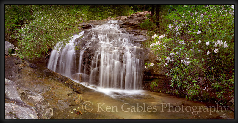 Tunnel Falls, Moss Rock Preserve, Jefferson County Alabama