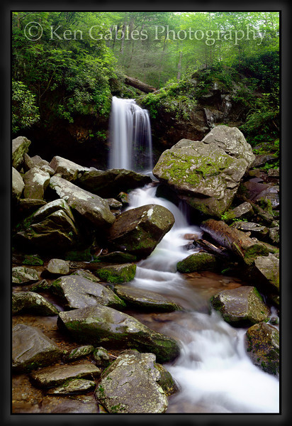 Grotto Falls, Great Smoky Mountain National Park, Tennessee