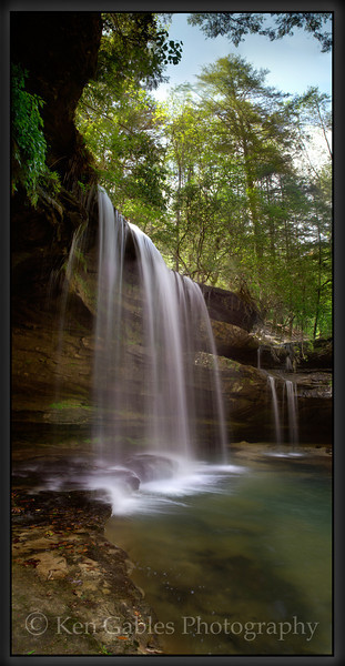 Caney Creek Falls, Bankhead National Forest, Winston County Alabama