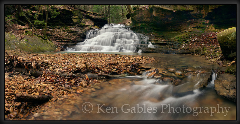 Eagle Creek Falls, Sipsey Wilderness, Winston County Alabama