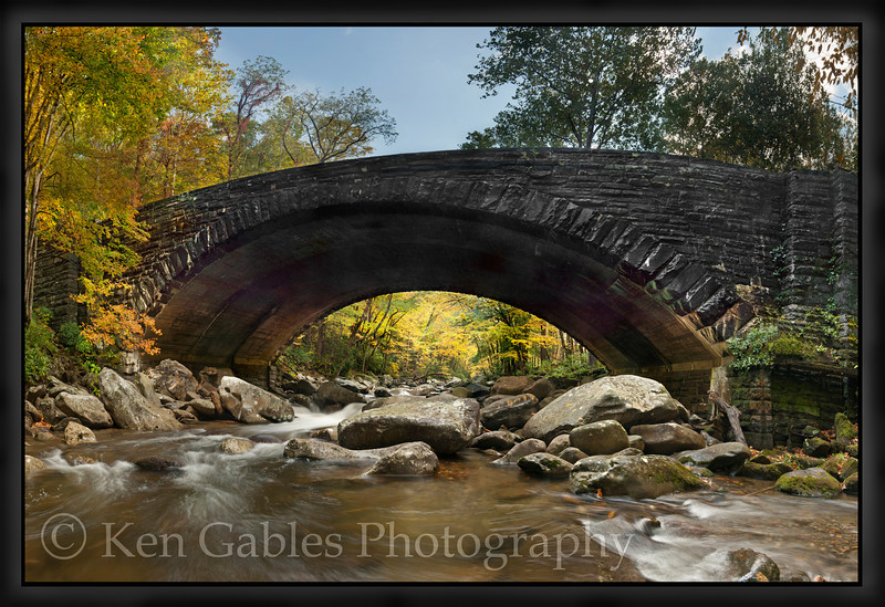 West Prong of the Little Pigeon River, Great Smoky Mountain National Park, Tennessee