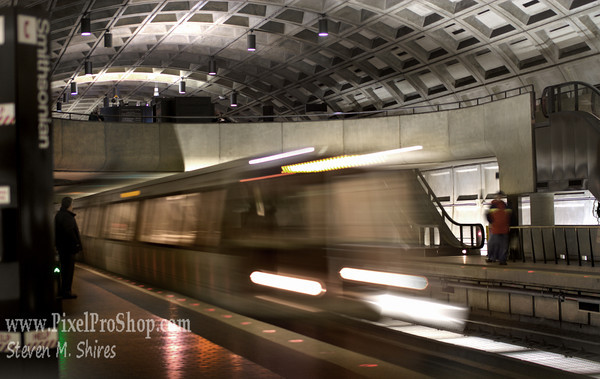 Metro Subway in Washington DC