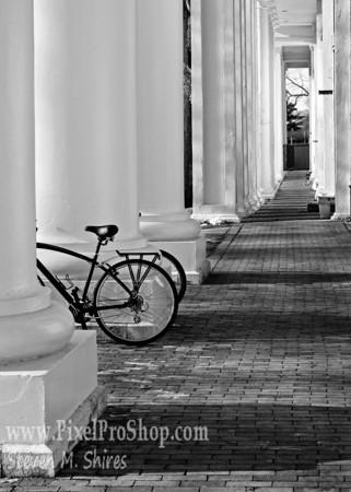 Bike at W&L University, Lexington Virginia