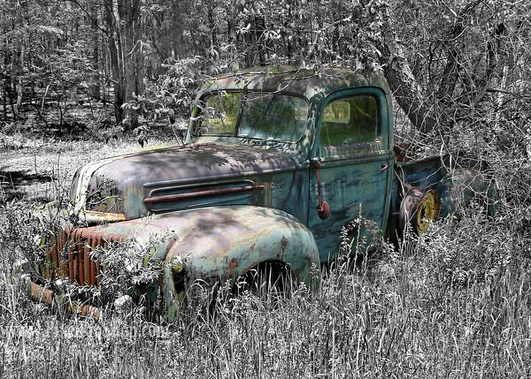 West Virginia old truck,