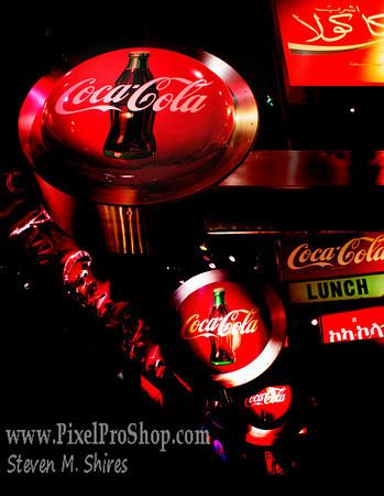 Coke Signs in Atlanta Ga.