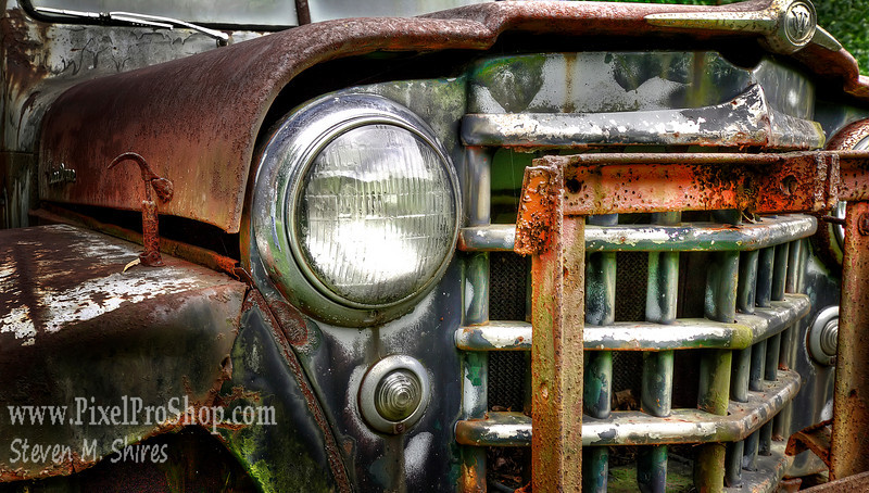 Rusting Willy's Jeep
