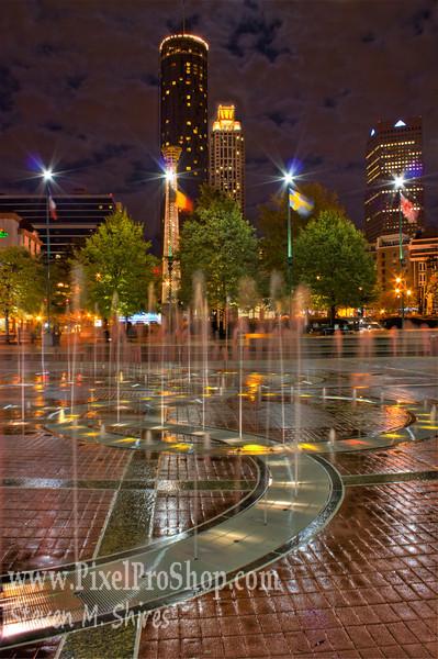 Atlanta Ga. Centennial Park