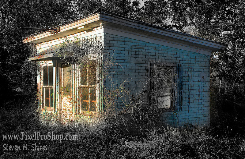 Dawn Light On A Bygone Store