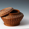 Miniature basket only 3 inches in diameter.