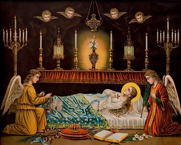 Grab Der Hl Jungfrau Maria